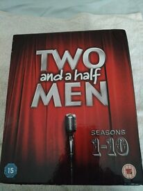 Two and a Half Men Seasons 1-10 DVD - £24