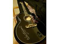 Epiphone EJ200 CE Electro Acoustic Guitar with hard case