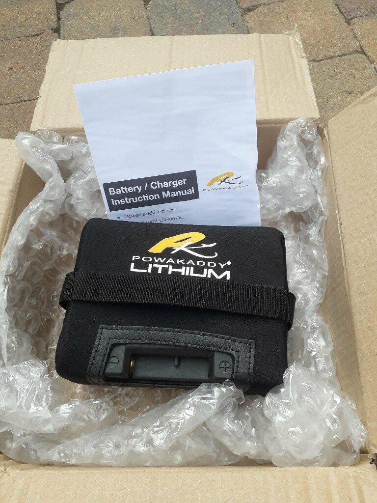 2 lithium golf powakaddy batteries brand new still in box Note there is no  charger with this | in Newtownards, County Down | Gumtree