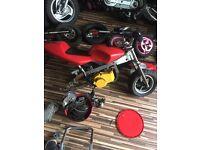 Mini motos, engines,carbs, parts/spairs.