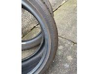 4 Goodyear efficient grip tyres