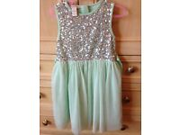 Monsoon Girls party dress - worn once!