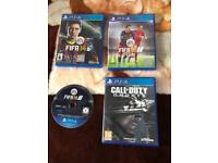 Ps4 games joblot......fifa 18 included