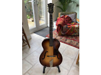 Hofner Congress Early 1960's Archtop Acoustic Guitar