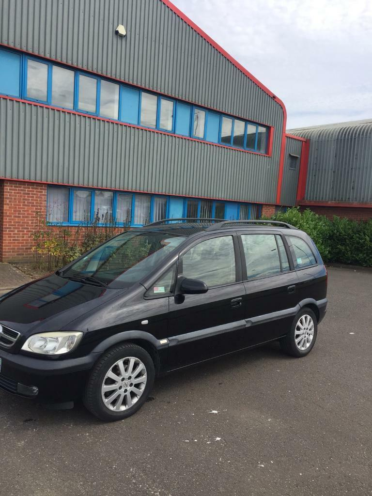 2004 DIESEL OPEL ZAFIRA LEFT HAND DRIVE 7 SEATER