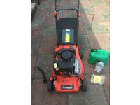 Sovereign 40cm Petrol Hand Push Lawnmower