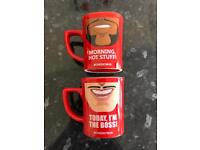 Two nescafe cups / mugs