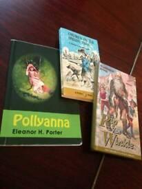 3 Children's Classics Books