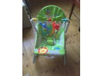 Fisher price baby vibrating relaxing chair