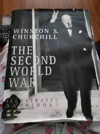 WINSTON CHURCHILL THE SECIND WORLD WAR BOOK RRP £30