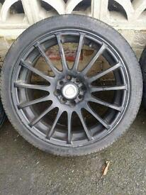 "Alloy Wheels 17"" Calibra Multifut 4x100 4x108"