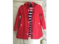 Hatley Girls Rain Coat Size 8