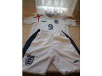 Junior Boys England Football Kit