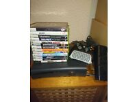 Xbox 360 Elite, with games and extras
