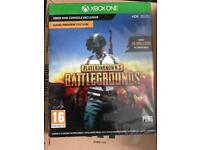player unknown battlegrounds Xbox code in box new