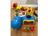 Kids toy bundle Disney Fisher Price great condition