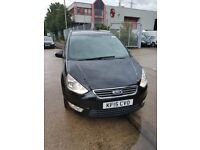 2015 FORD GALAXY AUTOMATIC for PCO HIRE, 7 SEATER, BLACK