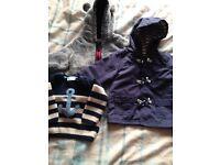 Bundle of baby boys clothes 3-6