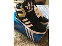 Adidas hi tops ladies 7 unused