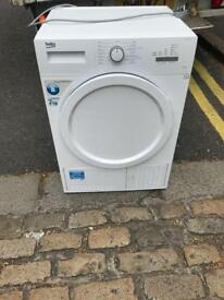 Beko 7kg condenser dryer-this is 4 months old,in new new condition £175