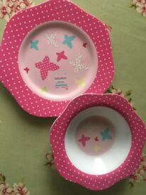 Selection of plates, bowls & weaning pots
