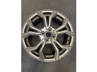 Ford Fiesta St-Line 17' rock metallic alloy