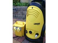 KARCHER HD 5/11C COMMERCIAL PRESSURE WASHER CAR JET TRUCK WASH TRANSFORMER 110