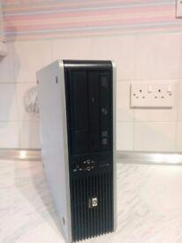 Quad Core HP Desktop PC, 4GB RAM, 1TB HDD, HD6450, Windows 10 Professional