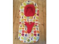 Mamas and Papas vibrating baby bouncer