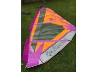 Windsurfer boom and sail 4.2m in bag