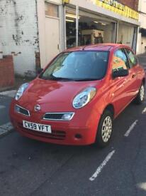 2009 NISAN MICRA 1.2l PETROL 39k MILES 1 PREVIOUS KEEPER