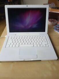 White 13' Apple MacBook 2.13GHz Core2Duo 4GB 500GB HDD Logic Pro 9 Adobe CS6 Master Microsoft Office