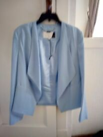 Ladies pale blue Preen size 14 jacket