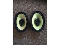 Fusion car speakers