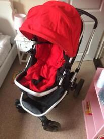 Mothercare Xpedior pram and car seat