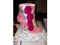 Irregular Choice Pink Slumber Party Shoes