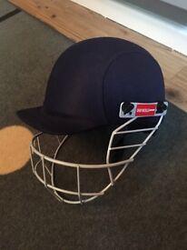 Gray-Nicolls navy cricket helmet