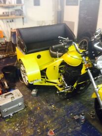 Bandit 600 trike project 99% completeWill need registrant