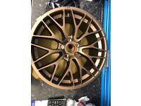"Form1 edition 1 Matte Bronze alloy wheels 18"""