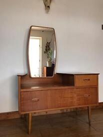 SOLDMid century vintage retro vanity unit