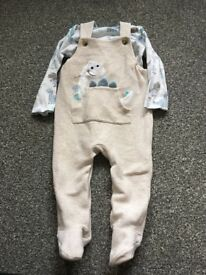 9-12 Tops and Dungarees