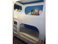 Designer pod effect bunk beds