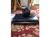 Sky +hd box with router and cables (prefer text)