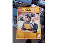 Lego Ideas Wall-E (Lego set 21303) Now retired