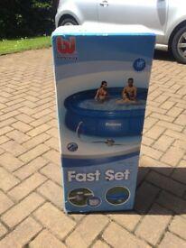 Bestway round inflatable pool