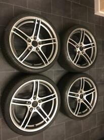 "Bmw 19"" 313 alloy wheels bbs"