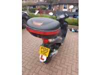 Quick sale SYM 125cc motorbike.