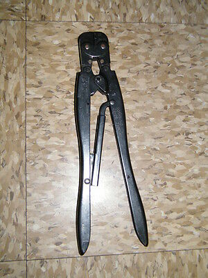 Amp 90340-1-d 22-26 Type -f Crimper Crimping Tool Electrician Pidg
