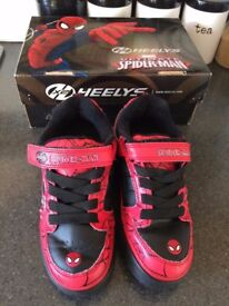 Spiderman Bolt X2 Heely's - Child's Size 13
