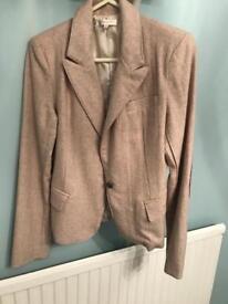 Ladies river island blazer/ glamorous beige blazer
